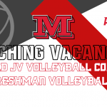 Freshman & JV Volleyball Head Coaching Positions Available