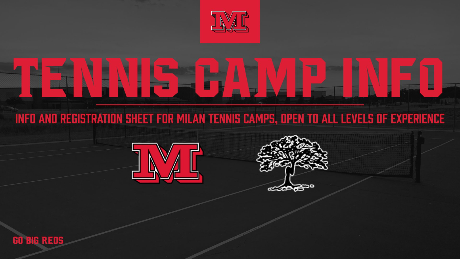 Milan Summer Tennis Camps Registration and Information