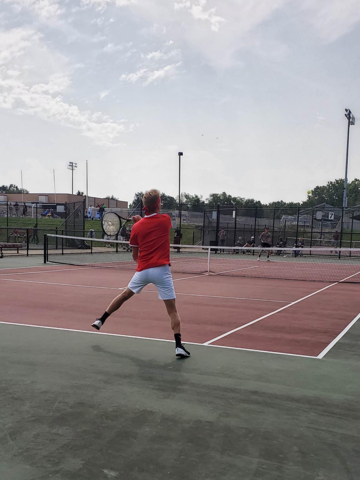 Milan Boys Tennis Parma/Trenton Matches