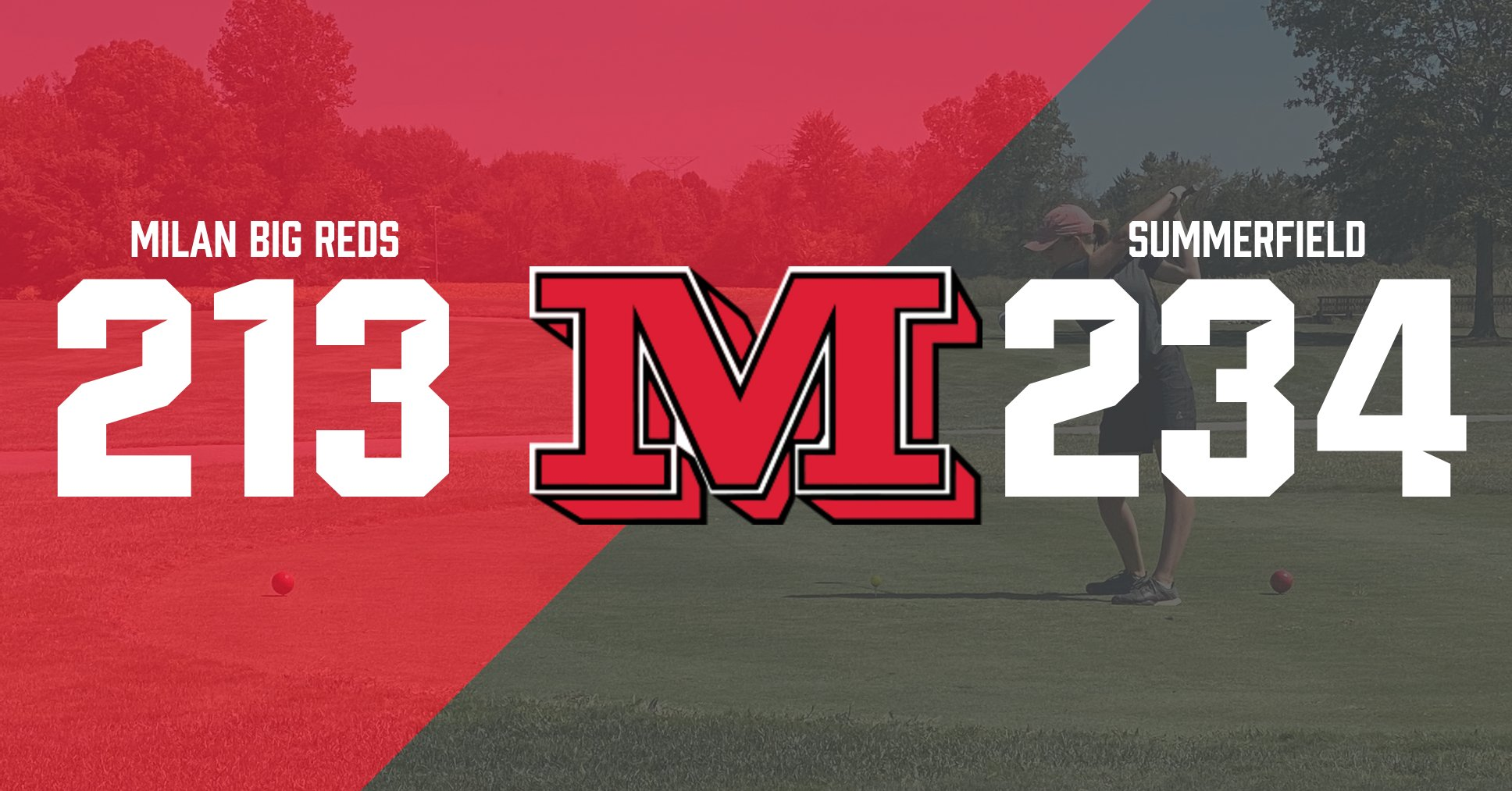 Milan girls golf beats Summerfield, 213-234
