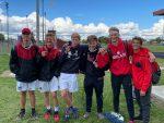 Milan Boys Tennis brings home medals at four flights at Huron League Tournament
