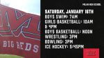 Milan High School Winter Sports Start Dates & Times