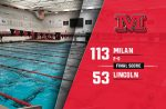 Milan Boys Swim takes down Ypsilanti Lincoln, 113-53