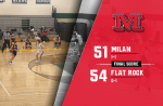 Flat Rock holds off Milan Girls Basketball late, 54-51