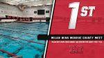 Milan Boys Swim wins County Meet, Dobrzanski named Swimmer of the Meet