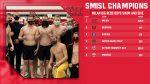 Milan Boys Swim & Dive earns SMISL Meet Championship