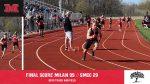 Milan boys Track & Field defeats SMCC, 99-29