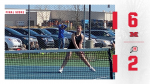 Milan girls tennis starts Huron League play with 6-2 victory against New Boston Huron