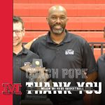 Thank you, Coach Pope