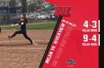 Milan softball goes yard 5 times to take both games at Riverview