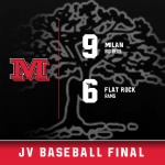 JV Baseball wins 9-6 at Flat Rock