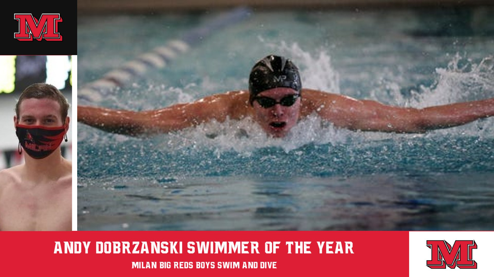 Andy Dobrzanski named Swimmer of the Year