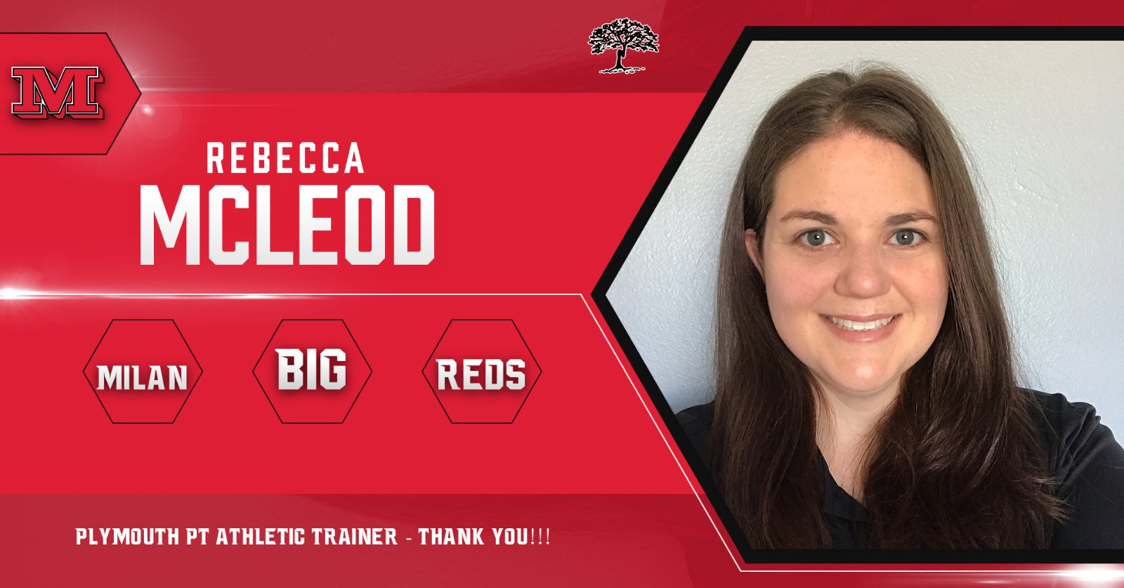 Milan Athletics Spotlight: Athletic Trainer, Rebecca McLeod