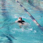 Mountain Ridge High School Girls Varsity Swimming falls to Horizon High School 108-78