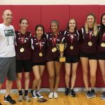 Ridge Badminton wins District Tournament