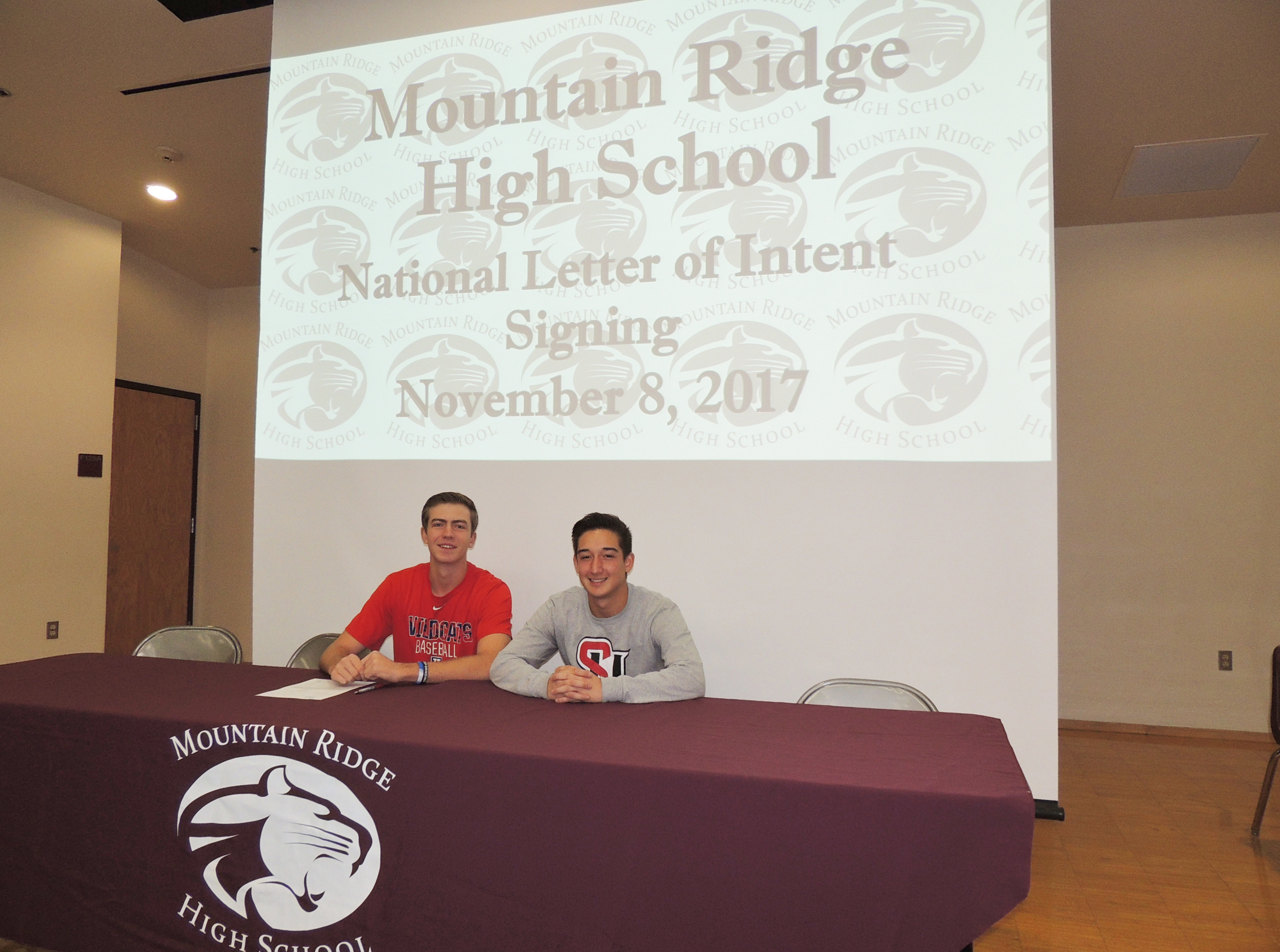 National Letter of Intent Signing November 8th, 2017