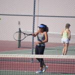 Back to back wins for girls tennis!