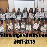 Sneak peek of the New Varsity Pom Team for the 2017-2018 Season