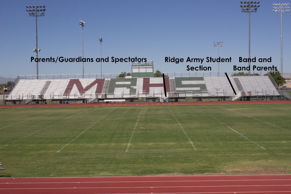 Stadium Seating Change For Friday Night Football