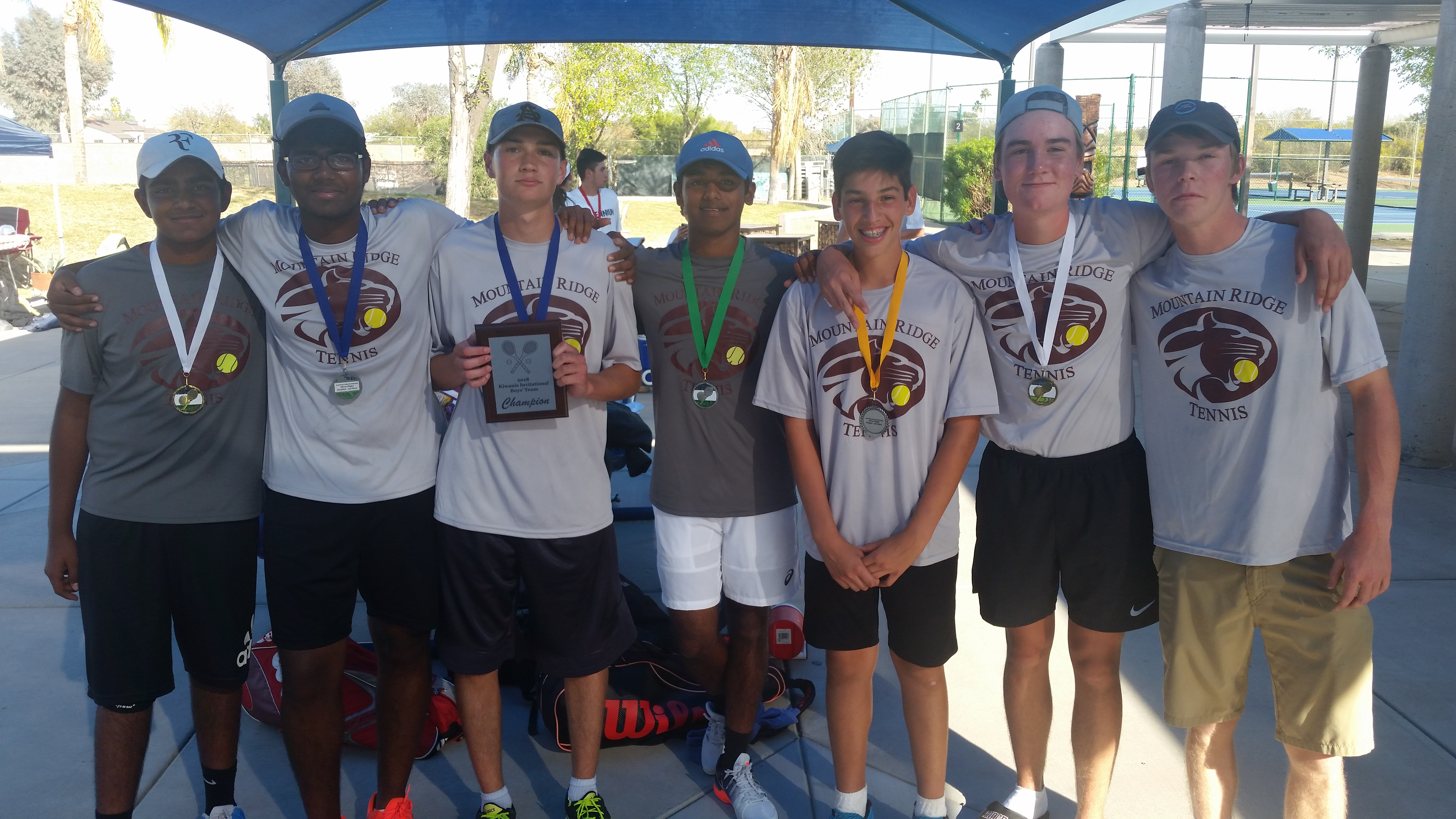 Boys Tennis March 2nd and 9th Tournament Results