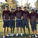 Boys Varsity Golf finishes 1st place at Thunderbird, Alhambra, and Mountain Ridge