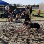 Beach Volleyball Doubles Heads to Round 1 of State Tournament