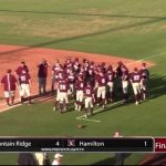 Ridge Baseball Beats Hamilton
