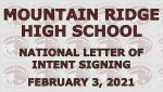 NATIONAL LETTER OF INTENT – FEBRUARY 3, 2021