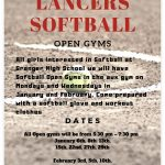 Softball Open Gyms
