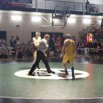 Wrestlers in Wyoming