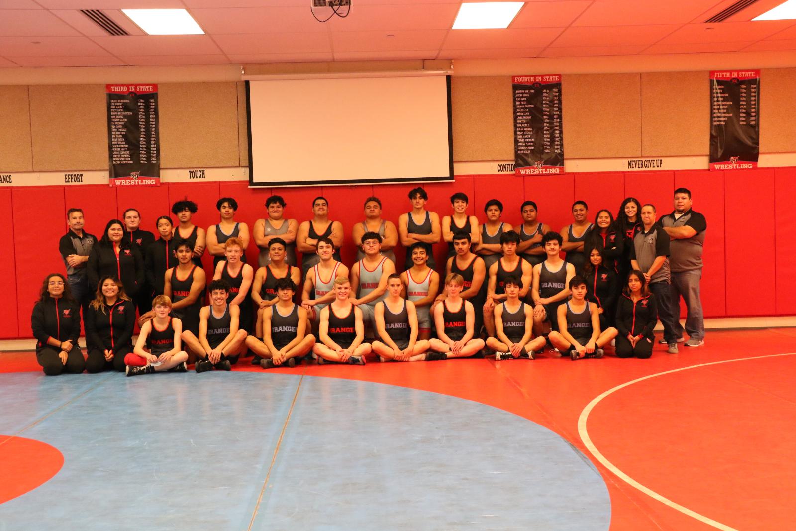 Boys Wrestling 2020-2021