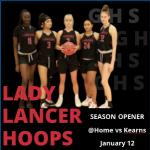 Watch LIVE!  Lady Lancer Basketball vs Kearns