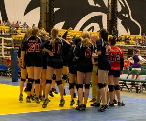 High School Girls Volleyball Represent Well @ 2A State Tournament – 11/1/2019