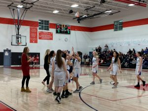 HS Girls Bball JV – vs. American Heritage – Jan. 30th, 2020