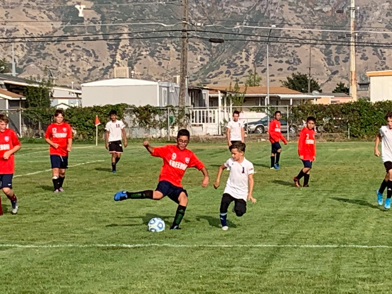 Middle School Boys Soccer vs. APA Draper – Sept. 15th, 2020