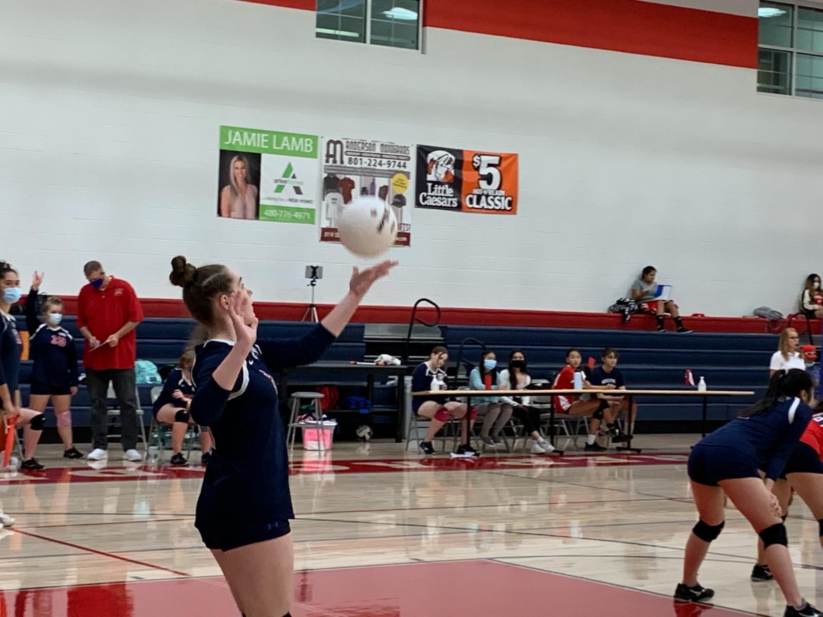 High School Girls Volleyball Varsity – vs. APA Draper – Sept. 15th, 2020