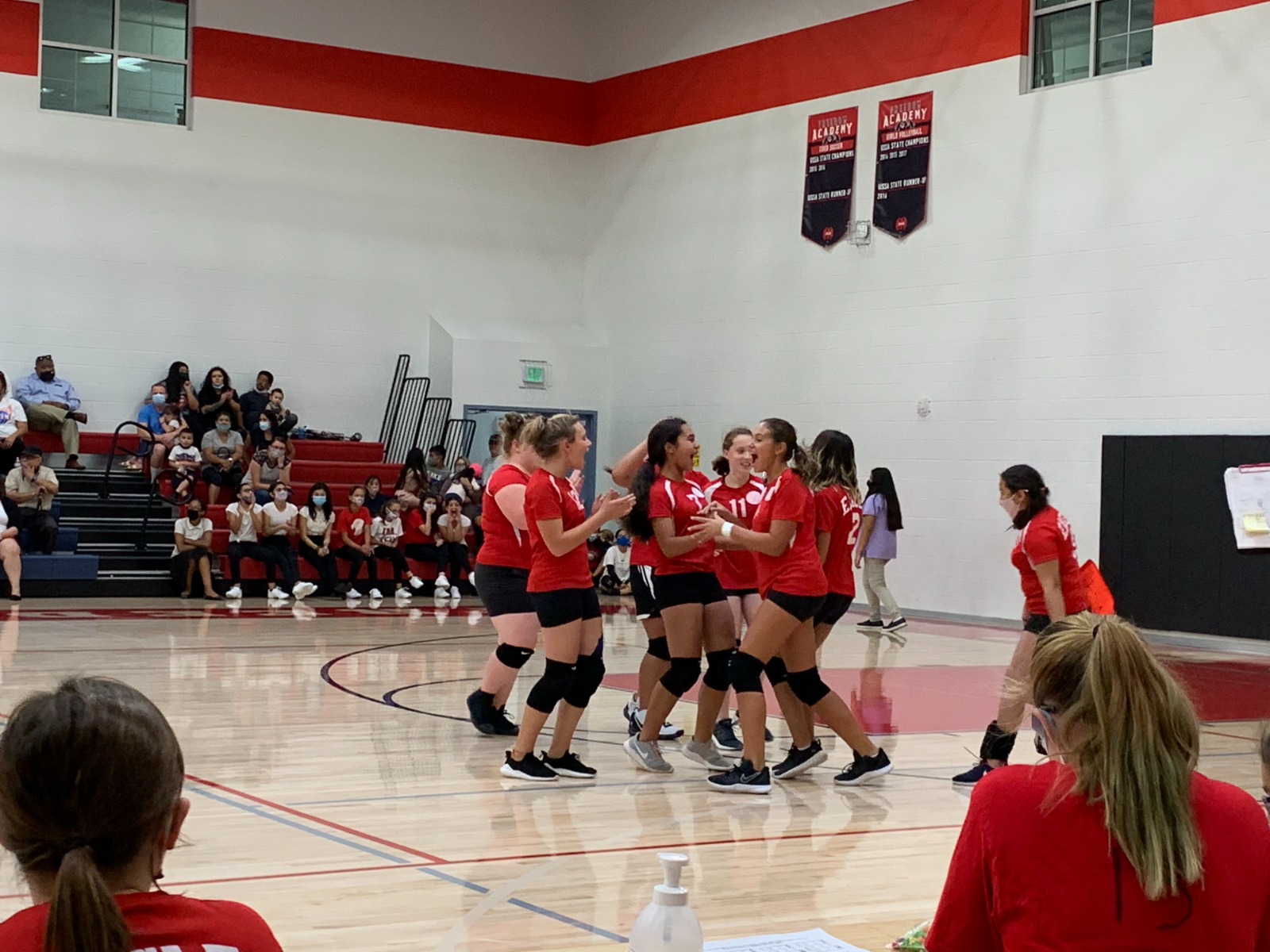 Middle School Girls Volleyball A Team vs Providence Hall – Sept. 16th, 2020
