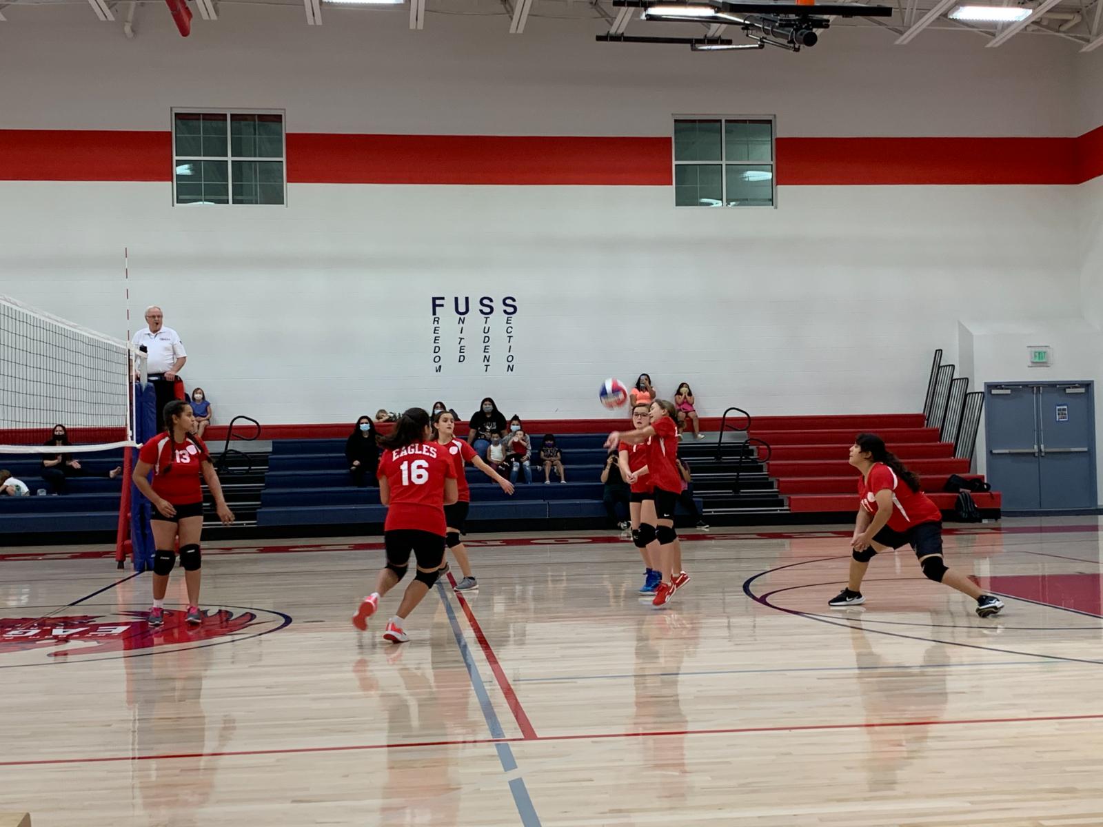Middle School Girls Volleyball B Team vs Maeser- Sept. 23rd, 2020