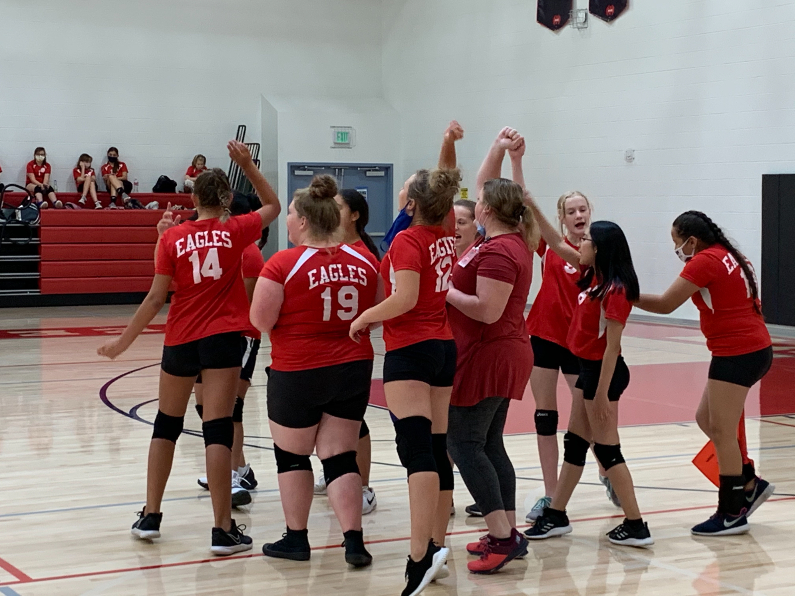 Middle School Girls Volleyball A Team vs Summit Academy – Sept. 28th, 2020