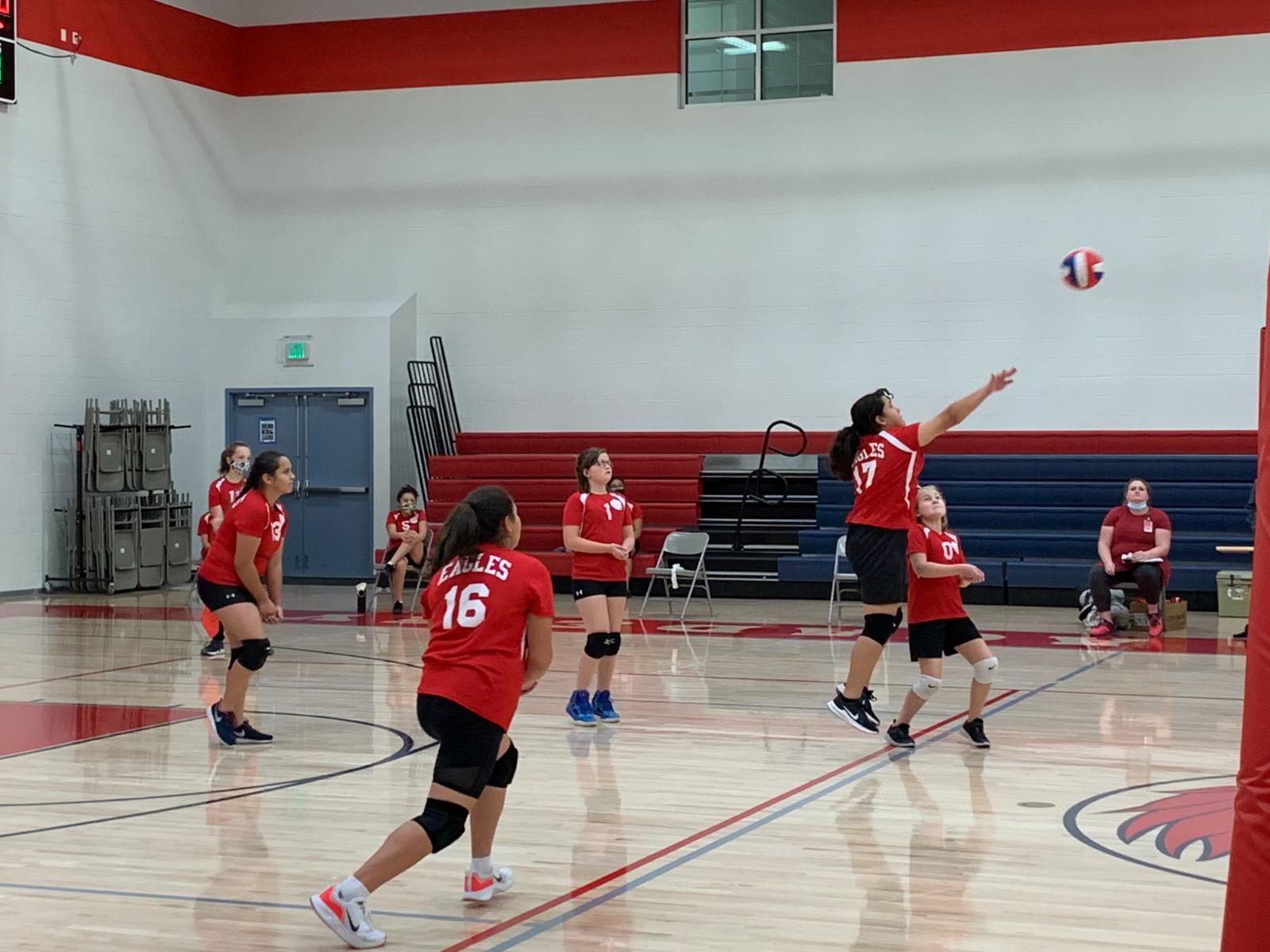 Middle School Girls Volleyball B Team vs Summit Academy – Sept. 28th, 2020
