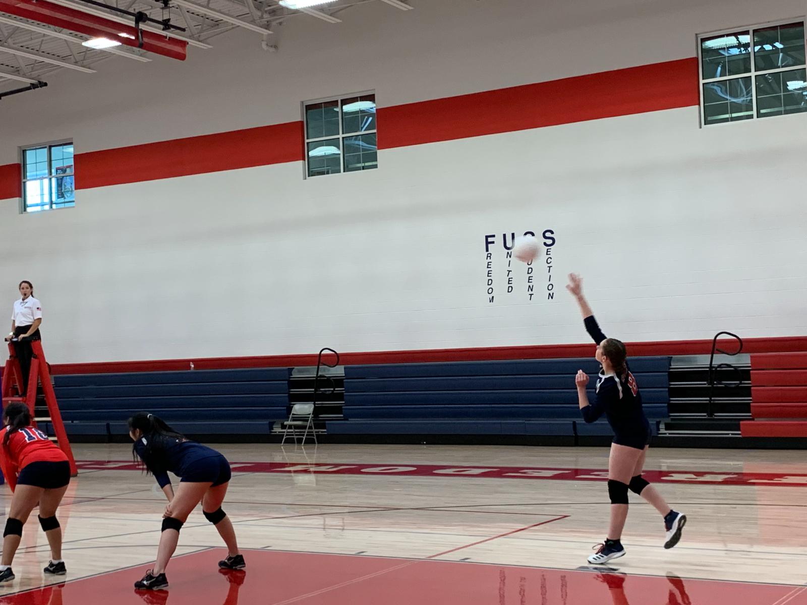 High School Girls Vball Varsity – vs. UMA Camp Williams – Sept. 29th, 2020