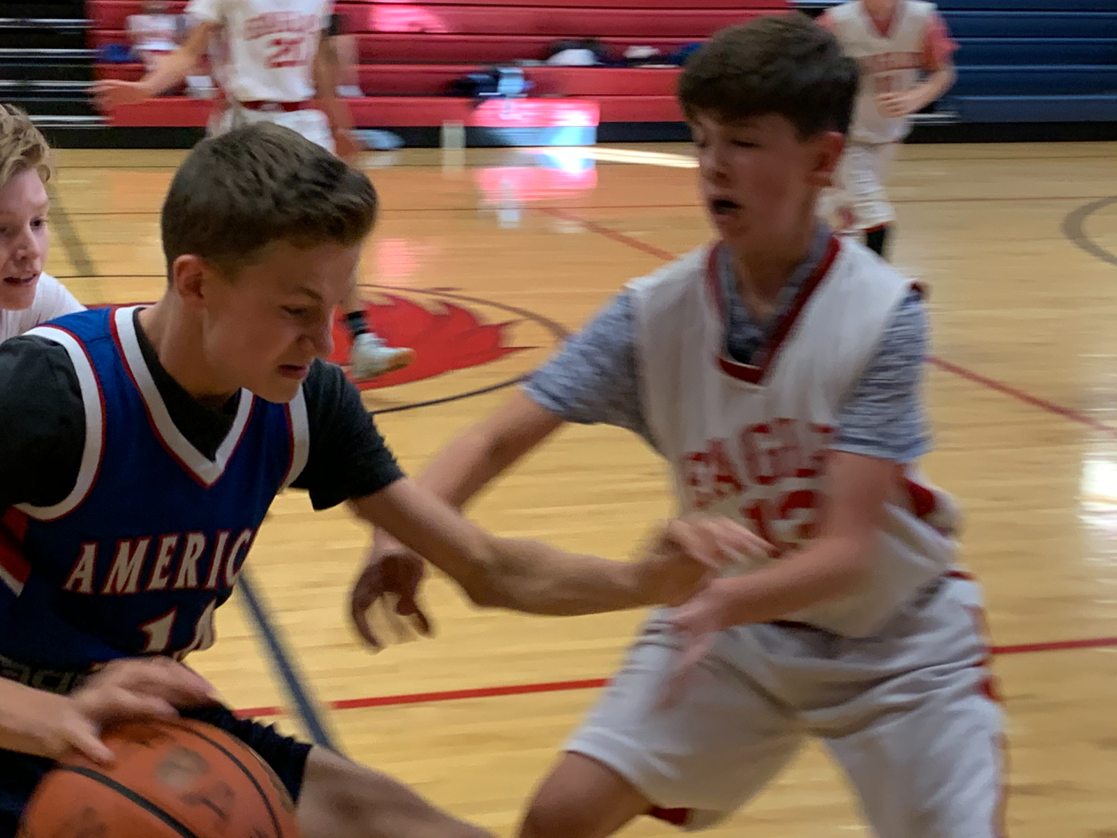 Middle School Boys Bball A Team – vs. Am. Heritage – Oct. 26th, 2020