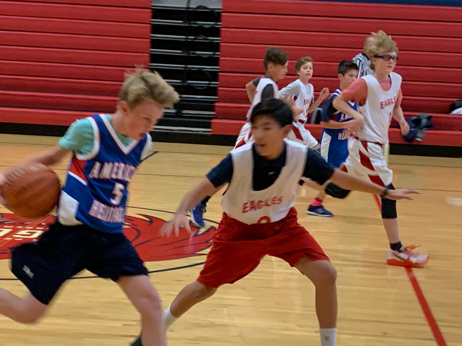 Middle School Boys Bball B Team – vs. Am. Heritage – Oct. 26th, 2020