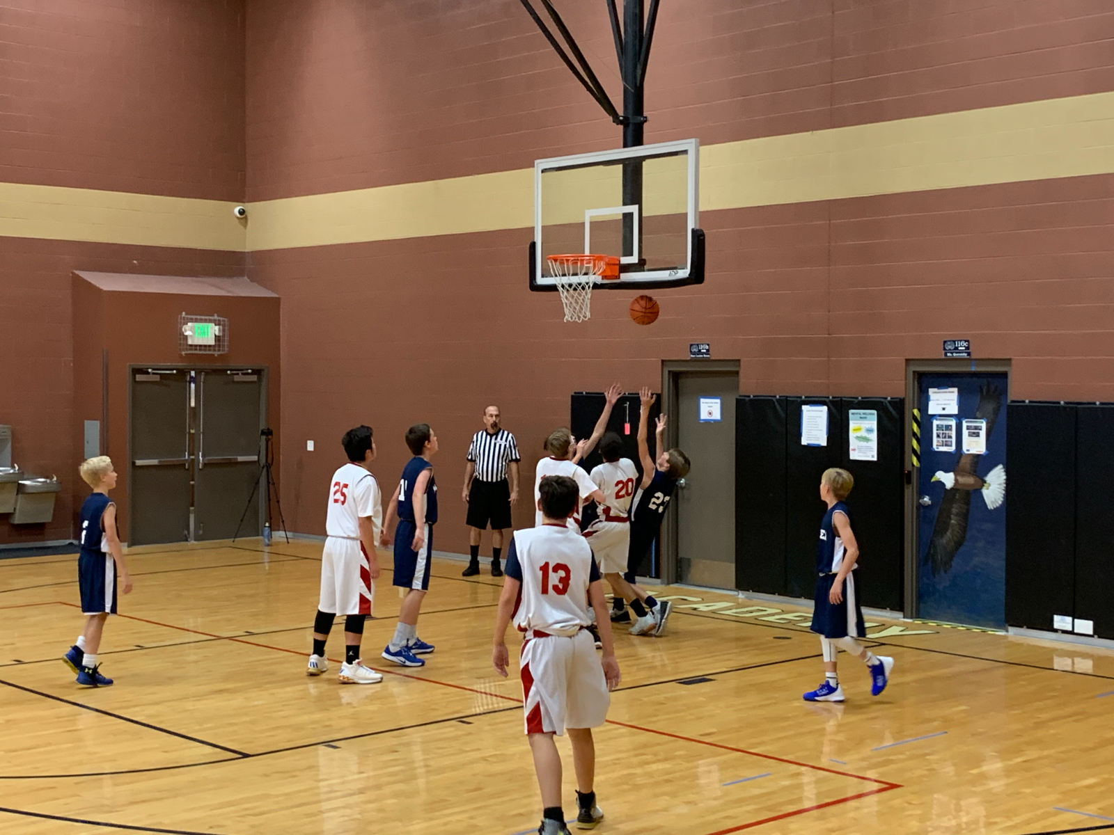 Middle School Boys Bball A Team – vs. Maeser – Nov. 2nd, 2020