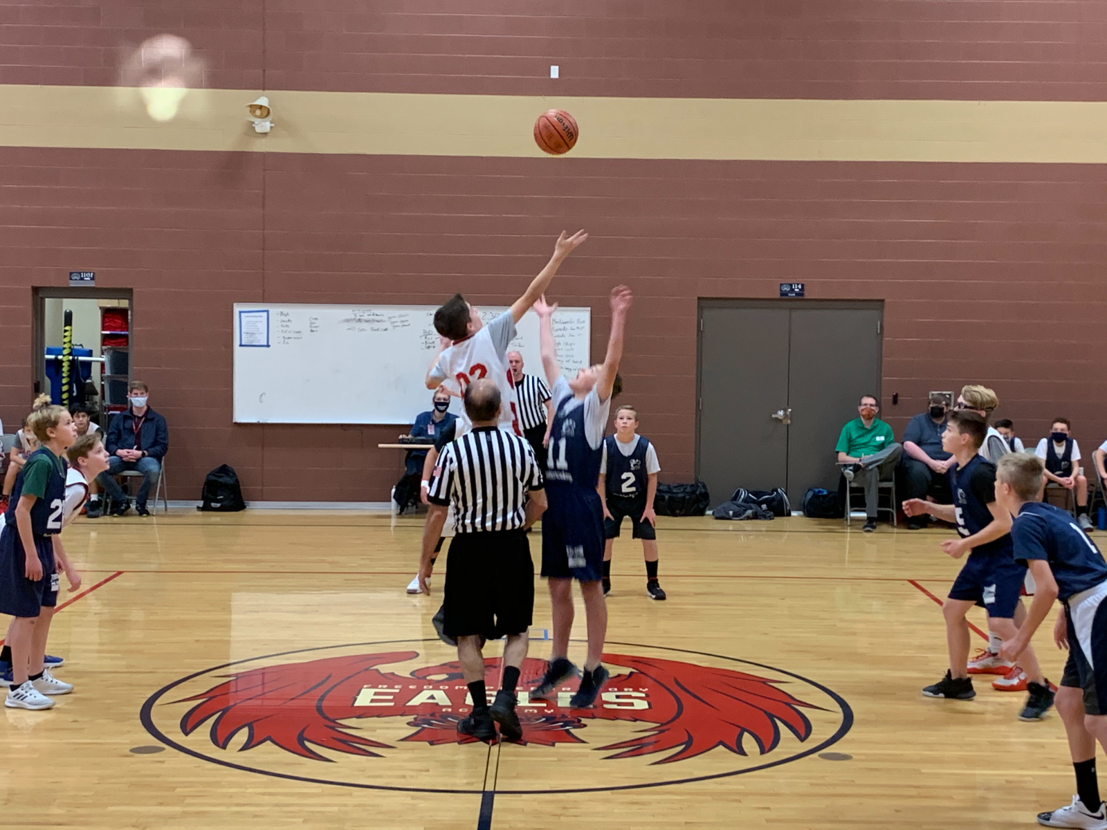 Middle School Boys Bball A Team – vs. Excelsior – Dec. 2nd, 2020