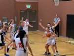 Middle School Girls Basketball A Team vs American Heritage - Jan. 20th, 2021
