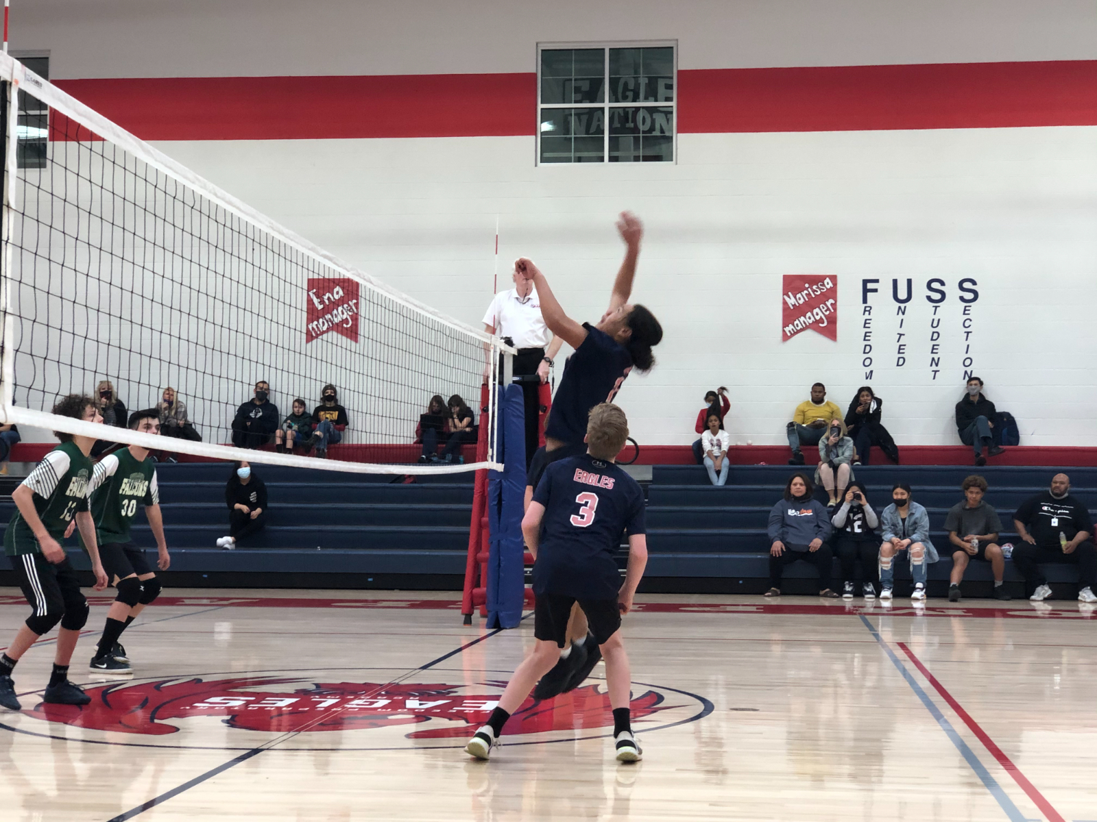 Middle School Boys Volleyball A Team VS Summit -March 22nd, 2021
