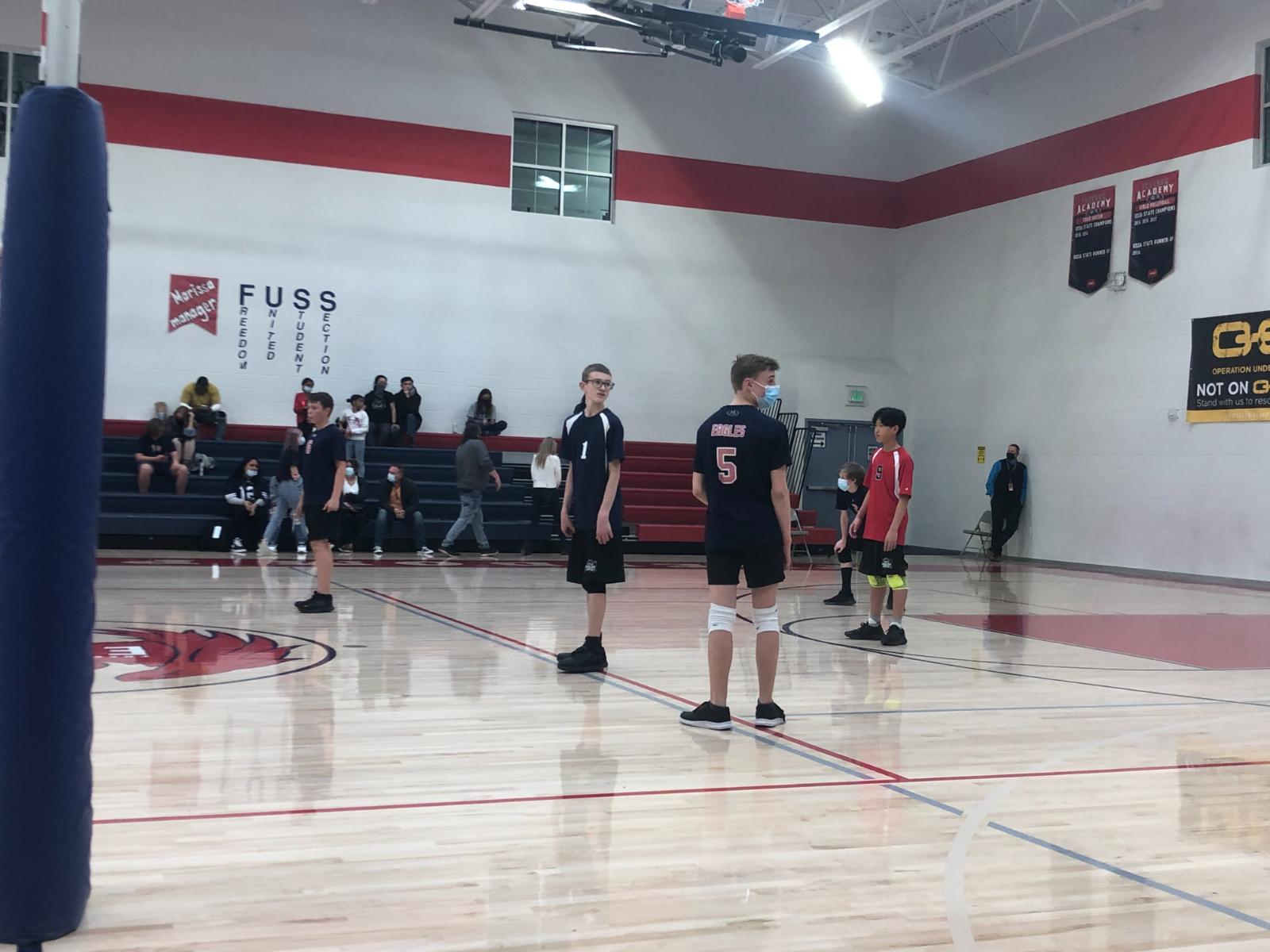 Middle School Boys Volleyball B Team VS Summit -March 22th, 2021