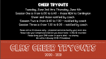 2020 Cardington Cheer Tryouts