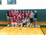 Cardington-Lincoln Lady Pirate Volleyball District Runner-Ups